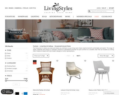 10% Off All Occasional & Accent Armchairs and Lounge Chairs   Ends 18 Sep 2020 - Living Styles