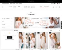 15% OFF Site-wide + EXTRA 30% OFF SALE   Esther & Co. - Esther & Co