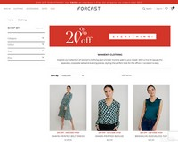 20% Off Everything at  Forcast - FORCAST