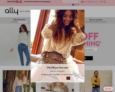 25% Off Everything at Ally Fashion - Ally Fashion