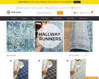 30% Off Floor Runners - April & Oak Ltd