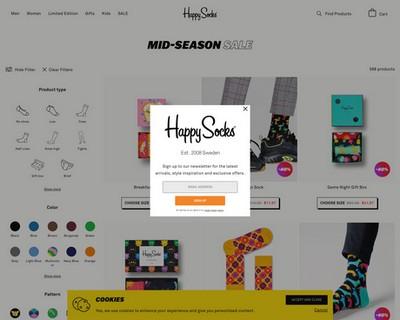 40% Off Mid-Season Sale   Happy Socks - Happy Socks Australia