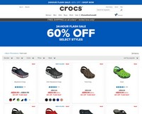 606a26e0248905 60% OFF Selected Styles in the 24 hour Flash Sale   Crocs