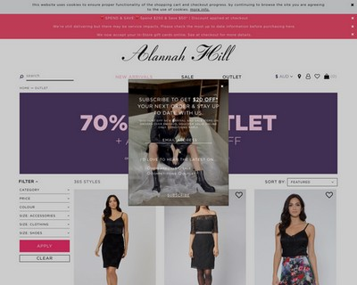 A Further 10% Off Outlet Styles at Alannah Hill - Alannah Hill