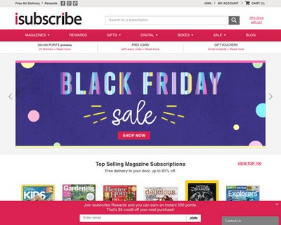 Black Friday Sale - isubscribe