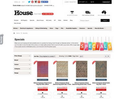 Buy More Save More 10% Up to 25% OFF   House - House