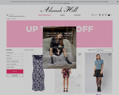 Everything In Outlet 70% Off   Alannah Hill - Alannah Hill