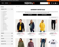 Greatest Winter Sale Starts now at Superdry! - Superdry