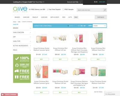Great for Christmas Promo! Discount on selected items and Free Product Samples for every purchase  | Alive Skin + Hair - Alive Skin + Hair