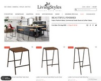 LivingStyles Sale | Fabric Platform Beds, Commercial Grade Stools & Coffee Tables | Reduced Prices | Ends 31 August, 2020 - Living Styles