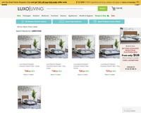 Luxo Beyond Designer Industrial Platform Bed | $50 OFF for Pre-Orders  - Luxo Living