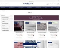 💧 Save 30-40% on Sheridan - Sheridan