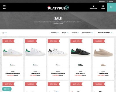 Save on Top Brand Sneakers up to 70% OFF| Platypus Shoes - Platypus Shoes