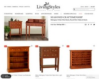 SEASONED CRAFTSMANSHIP | Mahogany Timber Wine Racks, Round Wine Tables & Stools - Living Styles