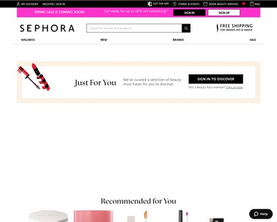 Sephora Sale - Save up to 50% of Beauty Buys - Sephora