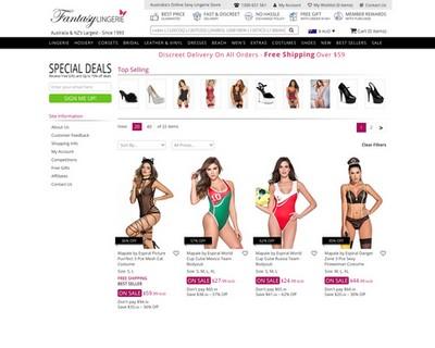 Special Deals Up to 70% OFF |  Fantasy Lingerie - Fantasy Lingerie
