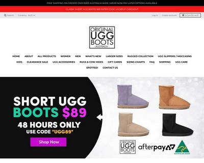 Take 20% Off Everything - Original UGG Boots