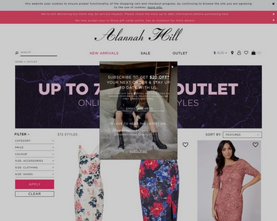 Up To 70% Off Outlet - Alannah Hill - Alannah Hill