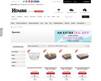 Up to 80% off! Includes SALE items | House - House