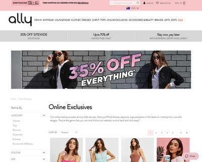 VIP 👅 50% OFF Online Exclusives at Ally Fashion - Ally Fashion