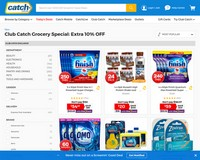 Weekend special: EXTRA 10% OFF groceries! - Catch