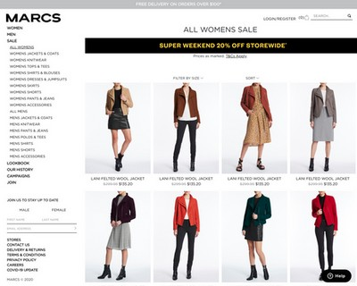 Winter Clearance SALE 50% OFF for Women at  Marcs - Marcs