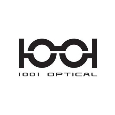 1001 optical logo